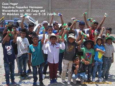 Ein Stift lässt Kinderträume wahr werden in Peru