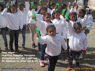 Stifte für Träume in Peru