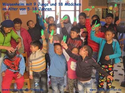 Stifte und Papier für Kinder sammeln, spenden und schenken