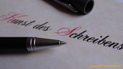 Schreibgeräte der Handelsvertretung für Stifte stiften für die Kunst des Schreiben lernens