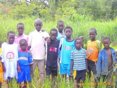 Kinder aus Burkina Faso