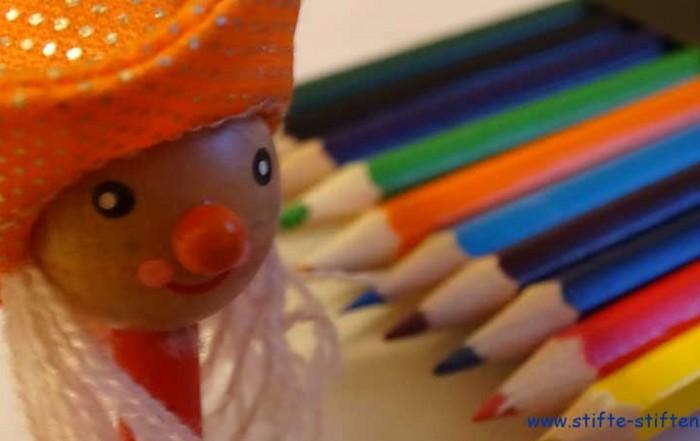 Stifte sammeln beim Herbstmarkt