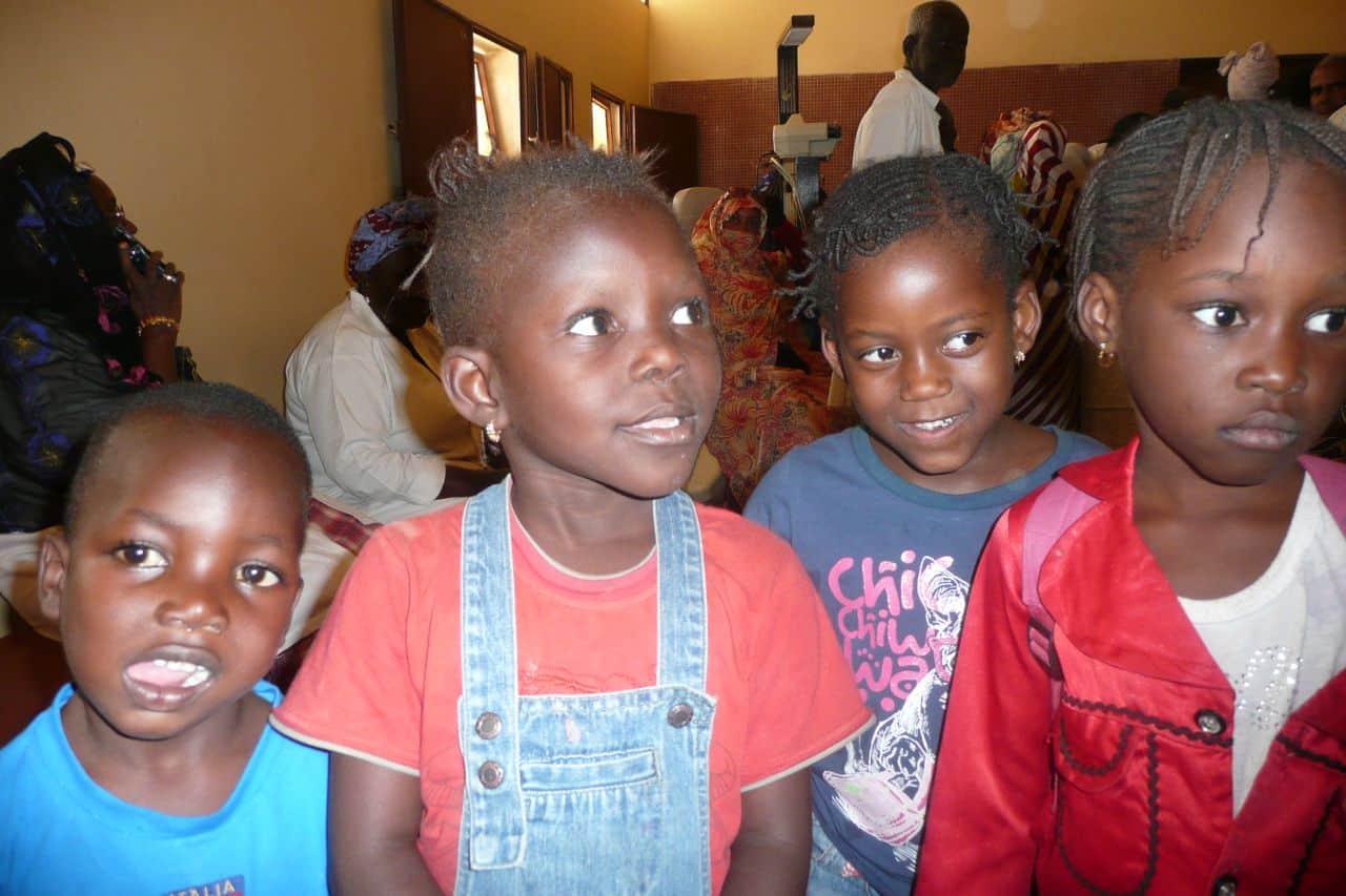 Kinder in Mauretanien