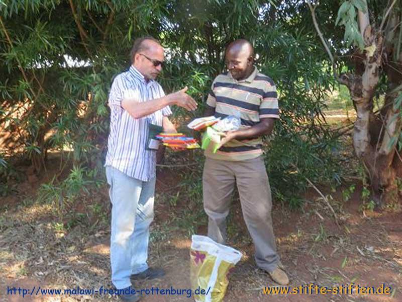 STifte für Kinder in Rumphi Malawi