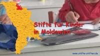 Stifte für Kinder in Moldawien