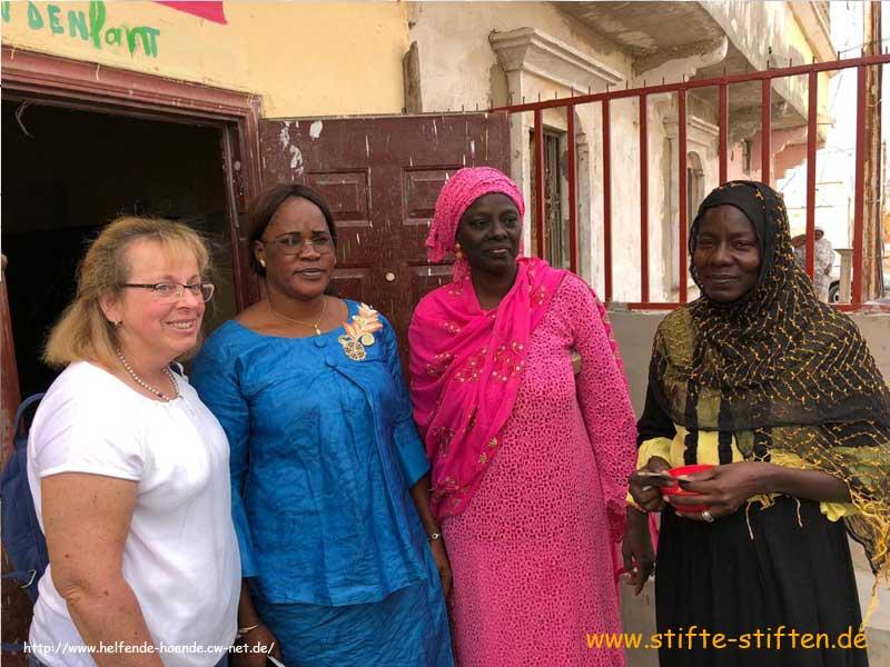 Frau Frey von Helfende Hände e.V. in Mauretanien