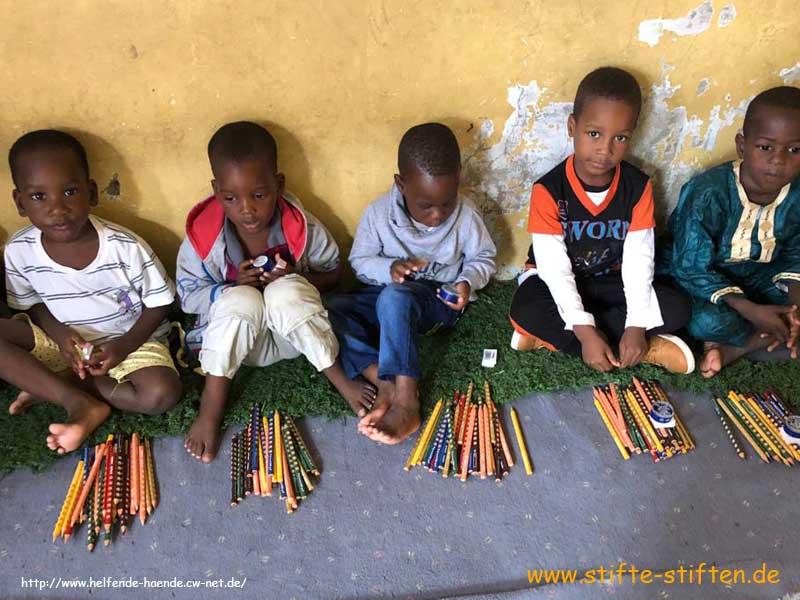Stifte für Mädchen der Kindergartenklasse
