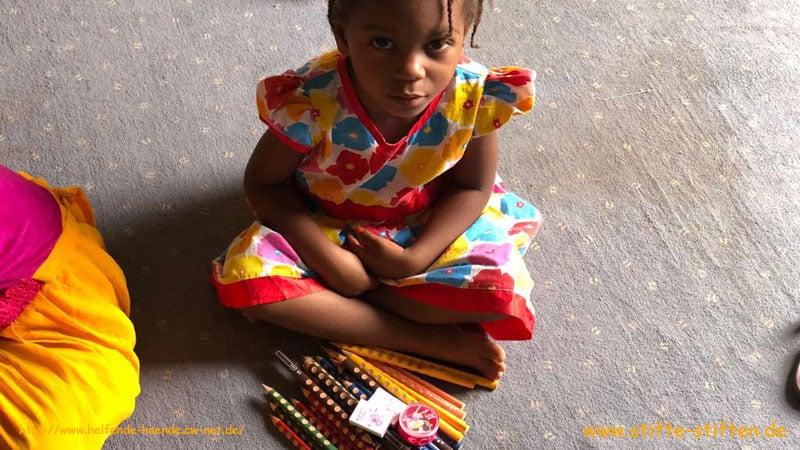 Stifte für Kinder in Mauretanien
