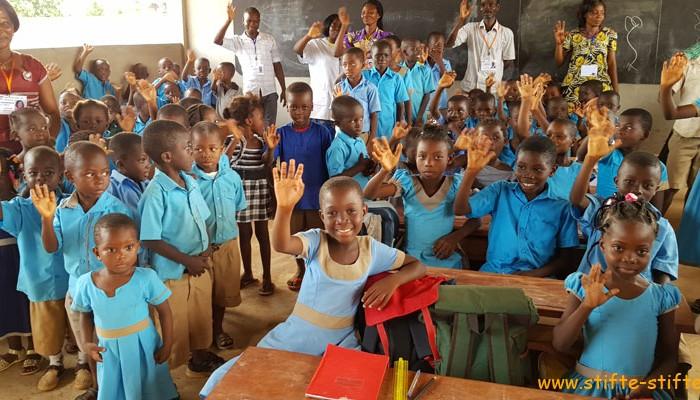 Stifte für Bildung in Togo