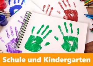 Schulen und Kindergarten sammeln Stifte