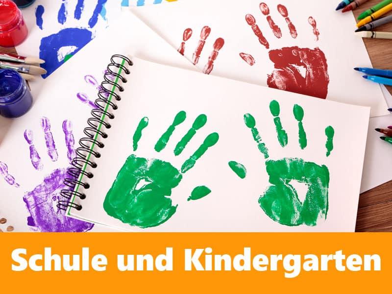 Schulen, Unis und Kindergarten sammeln und spenden Stifte