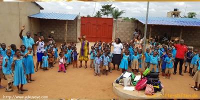 Spende an Stifte für Schule in Togo
