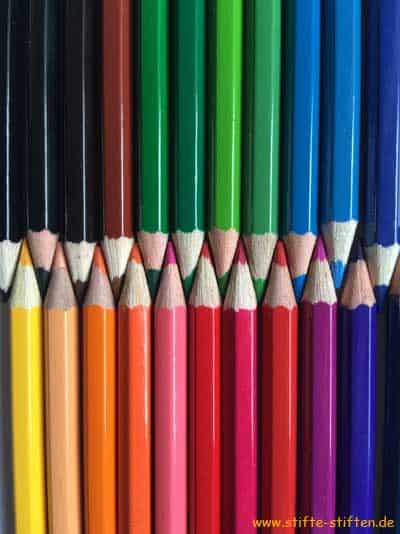Buntstifte gut erhalten spenden